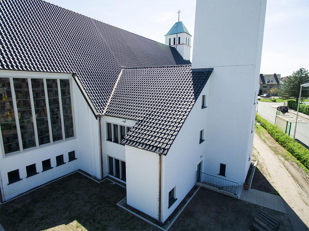 Liboriuskirche - Ihr Spezialist fürs Dach – Beer Bedachung GmbH – Oestingstraße 37 – 59063 Hamm
