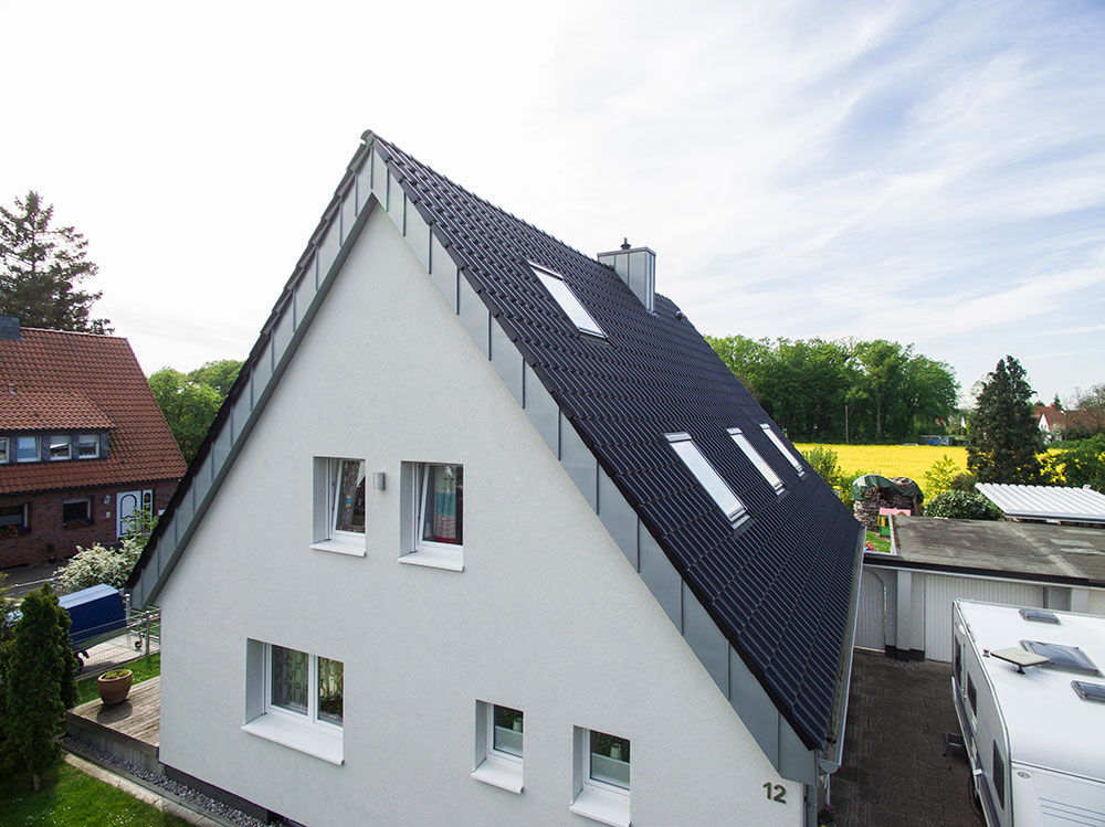 Privathaus - Ihr Spezialist fürs Dach – Beer Bedachung GmbH – Oestingstraße 37 – 59063 Hamm